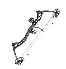 Armex REX Archery Compound Bow Fully Adjustable 55 Lbs * BLACK * Right Handed *