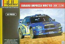 Heller 1:24 Subaru Impreza WRC '03 (Solberg/Mills) Rally Car Model Kit