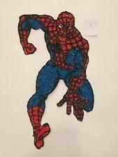 "RARE  1977 SPIDER-MAN  24"" Melted Plastic Decoration Spider Man Marvelmania"