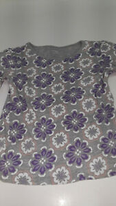 Old Navy gray, purple, white top sz 4T