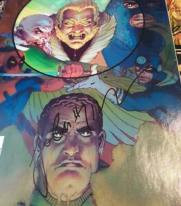 Lot of 5 IDENTITY DISC Complete Set SIGNED #1-5 John Higgins Marvel Rodi Florea
