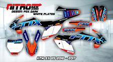 NitroMX Graphic Kit for KTM SX 65 SX65 2016 2017 2018 16 17 18 Decals Motocross