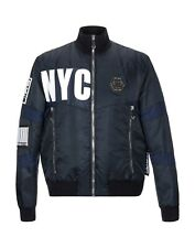 65% OFF PHILIPP PLEIN Bomber Padded Jacket With Scull 2XL