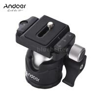 "Andoer Mini Camera Tripod Ball Head w/ QR Plate 1/4"" Screw for Canon Nikon W0J9"