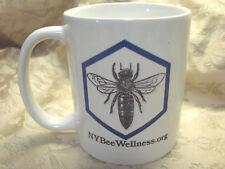 Coffee Mug Ceramic Cup NY Bee Wellness NEW Beekeeping Queen Bee