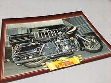 Fiche moto passion Harley Davidson FLH 74 Liberator 1978 collection Atlas USA