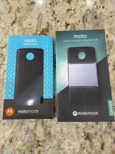 Insta Share Projector Moto Mod Black Motorola + Moto Mod Power Pack