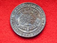 VINTAGE 1774-1974 BICENTENNIAL OF ARRIVAL OF SHAKERS IN AMERICA MEDAL