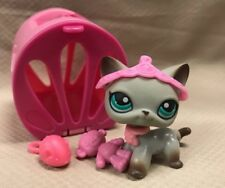 AUTHENTIC LPS Littlest Pet Shop Rare #391 Around the World Egyptian Cat w/Access