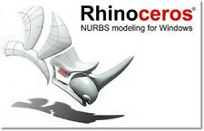 SOFTWARE CAO DAO SURFACIQUE 3D RHINOCEROS Version 5.13 MULTILINGUE A VIE