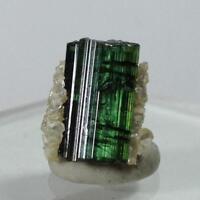 7.35ct Santa Rosa Mine Tourmaline Gem Crystal Mineral Green Minas Gerais Brazil
