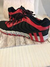 Adidas Adipure Crazyquick 2  Black red gray Shoes Men's size 10.5 Sneakers New