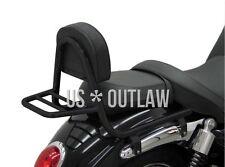 Sissy bar negro con portaequipajes Triumph Rocket Roadster X aniversario se