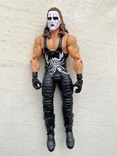 WWE WCW CROW STING SERIES 68B 68.5 MATTEL WRESTLING ACTION FIGURE