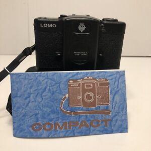 Vintage Lomo LC-A 35mm Point & Shoot Film Camera, Minitar 1, f/2.8 Lens