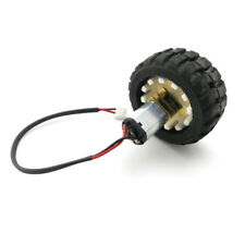 N20 Micro Gear Motor & Rubber Wheels for DIY Robot Smart Car Model 3V 6V Metal