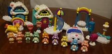 HUGE LOT Vintage Care Bears Toys Figures Figures Buildings Accessories Swing