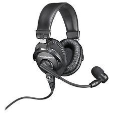 Audio Technica Bphs 1 Sobre la Oreja Auriculares Estéreo Auriculares de difusión con micrófono Boom
