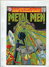 METAL MEN #25 (7.5) THE CHEMICAL MENACE!  RETURN OF CHEMO, 1967