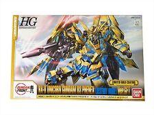 HGUC 1/144 Unicorn Gundam Unit 3 Phenex Destroy Mode Ver.GFT Limited Gold Kit