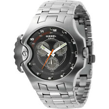 Discontinued DIESEL DZ4130 stainless steel chronograph  watch