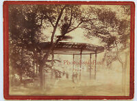 Tolosa Chiosco Vintage Albumina Ca 1880