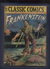 Classic Comics Illustrated #26 Frankenstein   original comic 1ST EDITION
