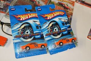 PREVIOUSLY OPENED RESEALED (2) Hot Wheels 1969 Charger 2006 Super Treasure Hunt