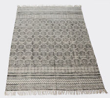 Indian Dari Rug Handmade Cotton Carpet Home Decorative Modern Floor Rug Runner