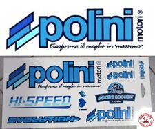 KIT ADESIVI POLINI SCOOTER TEAM FOGLIO DECALCO STICKERS
