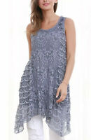 Womens Lace Sidetail Tunic Top,SIZE14/16,SIMPLY COUTURE DESIGN,BNWT,RRP£35.99