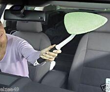 Microfibre Home Car Window Windscreen Long Reach Glass Wiper Demister Bug Buster