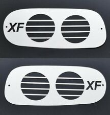 2 x acier inoxydable PHARE ANTIBROUILLARD Protecteurs Protections Décorations