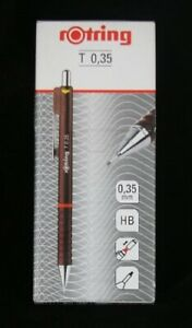Rotring TIKKY II Mechanical Pencil 0.35 mm leads BURGUNDY New
