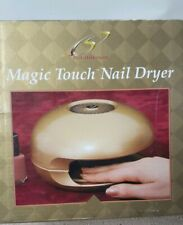 Magic Touch Manicure Nail Dryer Battery Operated Gold - New