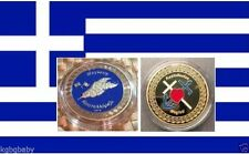 Greek Megisti/Kastellorizo (Island)-Gold Plated Collectable-Limited-C.O.A .incl