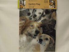 Nce Mini Flag Dog Collage 12.5x18