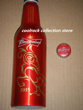2015 China Budweiser beer NEW YEAR of SHEEP aluminium bottle 355ml empty