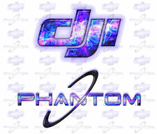 DJI Phantom Custom Graphics - Electrified! - Includes 4 Decals