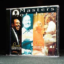 MASTERS OF JAZZ - volume.1 - Lionel Hampton, Dave Brubeck - Música Cd Álbum