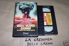 [5828] Quell'ultimo giorno (1987) VHS