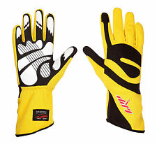 LRP Kart Racing Gloves- Freedom Gloves Black/Yellow