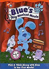 Blue's Clues - Blue's Big Musical Movie (DVD, 2002)