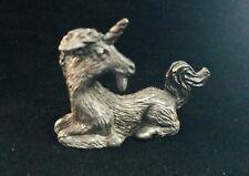 Pewter Unicorn Mythical Fantasy Magic Pegasus Horse Silver Metal Statue Figurine