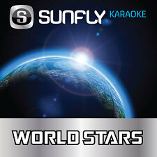 CHER SUNFLY KARAOKE CD+G DISC - WORLD STARS / 15 SONGS