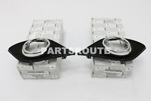 Infiniti G37 2011-2013 Q60 OEM Front Left & Right Fog Lamp Panel Trim Finisher