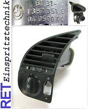 Schalter Lichtschalter 1387051 BMW 318 i E 36 Schalterkonsole