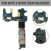 Placa Base Motherboard Para Samsung Galaxy Note 4 N910F 32GB Libre Original