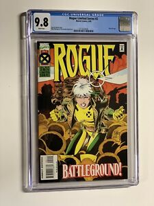 Rogue Limited Series 2 Cgc 9.8 White Pages X-men