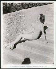 ELLEN DREW Original Vintage 1939 LEGGY CHEESECAKE PARAMOUNT PICTURES Photo